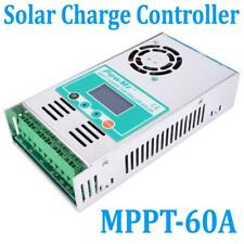 60A AMP MPPT Solar Regulator Charge Controller 12/24/36/48V Auto LCD with Fan