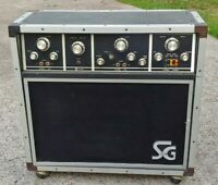 Vintage 1970's CMI ELECTRONICS Model SG-115 Guitar AMPLIFIER Project Amp.