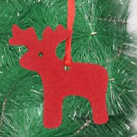 40pcs Creative Felt Christmas Pendant Decor Pendant for Office Store