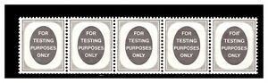 GB Poached Egg Testing Strip Stamps  Mint. #2041