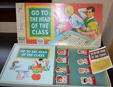 Vintage 1967 Milton Bradley series 15 Go To The Head Of The Class board game Euc