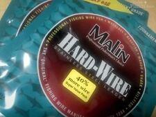 MALIN Hard-Wire Stainless Steel Leader--43#--480 Feet--Coffee--LC5-14--Free Ship