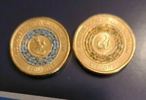 2020 AUSTRALIAN OLYMPIC ' $2  Coin' STRIVING & RESELIENCE