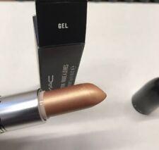 Authentic MAC Cosmetics Frost Lipstick Gel metallic beige New in Box