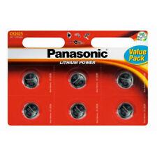 Piles boutons Panasonic pour équipement audio et vidéo CR2025