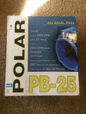 B-Air Polar Bear Axial Air Mover, PB-25, 1/4 Horsepower Fan for water damage,etc