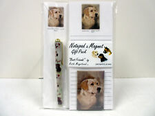 New Labrador Retriever List Pad Note Pad Magnet Pen Stationery Gift Pack RLA-1