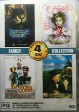 Jungle Book+The Little Princess+Arthur's Quest+Ebenezer (DVD, 2 Discs) VGC