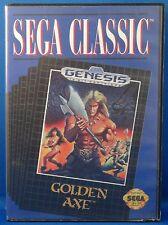Golden Axe (Sega Genesis, 1989) Complete! Free Shipping!