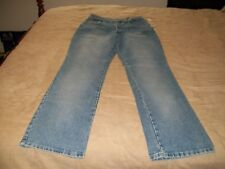 NEW YORK & COMPANY DISTRESSED BLUE JEANS / SIZE 8 TALL / BOOTCUT / NWT
