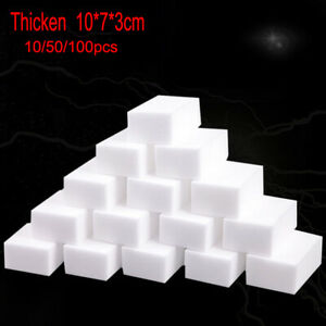 Lot 10/50/100X Super Cleaning Magic Sponge Eraser Cleaner Multi-functional Foam
