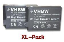 2x BATTERIE pour KODAK EASYSHARE V803 V1003 M308 M420