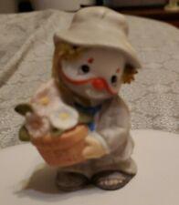 New ListingRare Li'l Vagabond Enesco Clown With Flower Pot Says My Best Friend 1987 Era