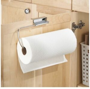 2 Of iDesign Over Cabinet Paper Towel Holder Stainless Steel 12x5.75inch