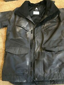 Burton Ski Jacket Men's Black XXL