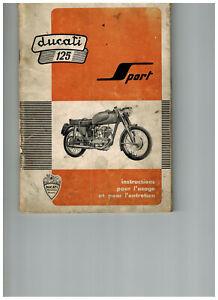 Manuel du propriétaire Ducati 125 Sport