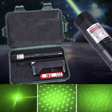 Green Laser Pen Pointer Boxed 1mw 532nm Adjustable Focus + Battery Charger