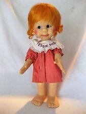 Vintage 1974 Tessie Talk Horsman Ventriloquist Doll