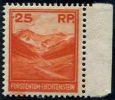 Lot N°6484 Liechtenstein N°111 Neuf * TB Quasi LUXE