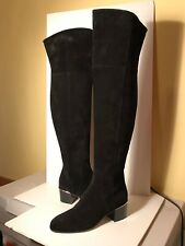 4e5673af44f Jimmy Choo Harmony Over-The-Knee Black Suede Boots (38)