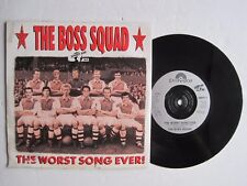 "THE BOSS SQUAD (SPORT AID 88) - THE WORST SONG EVER! -  7"" 45 rpm vinyl record"