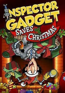 NEW 2013 INSPECTOR GADGET SAVES CHRISTMAS 1992 DVD Holiday Animation Cartoon