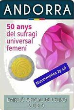 ANDORRA 2 euro 2 € 2020  Suffragio Universale Femminile OFFERTA