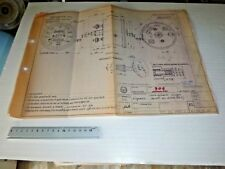 1977/1979 BENELLI 900 SEI speedometer : Genuine BLUEPRINT from Benelli
