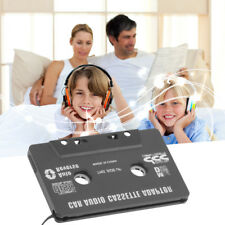 CAR AUDIO TAPE CASSETTE ADAPTER FOR IPHONE IPOD MP3 CD RADIO NANO 3.5mm JACK AUX