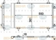 8FC 351 304-284 HELLA Condenser  air conditioning