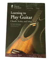 Great Courses Transcript Learning to Play Guitar Chords, Scales, and Solos