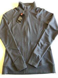 Under Armour New Vigor Full Zip Golf Sweatshirt Shirt Women's Size Med 1247 $75