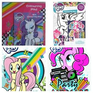 My Little Pony Colouring Sets and  My Little Pony Sticker Books Choice