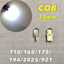 Canbus T10 COB LED White Bulb Parking Light W5W 168 194 2825 W1 For Kia BMW JAE