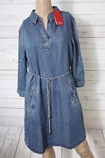 S.oliver Damen Kleid blau Gr. 34