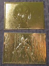 1997 OUTER LIMIT Gold Embossed Trading Card LOT of 2 NM 9.4 #386 & 281/1000