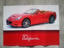 FERRARI CALIFORNIA   poster  affiche 68 x 48 cm