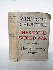 The Second World War - vol. 1 - The Gathering Storm by Churchill -  1st ed -1948
