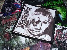 Necrony Patch Kutte  Sweden Death Metal/Grindcore Nasum