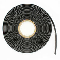 BLACK HEATSHRINK 3:1 TUBE TUBING SLEEVE HEAT SHRINK WRAP CABLE 3MM-50MM 1M per