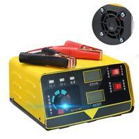 1X(Cargador De Batería De Coche 12V 24V Cargador De Batería De Coche 400Ah  2R7)