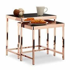 Relaxdays Copper tavolini da salotto Rame 35.5x48x46.5 cm