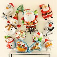 Grande Feliz Navidad Árbol Papá Noel Globo metalizado de helio FIESTAS CAMPANAS