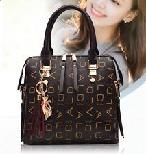 New fashion Women Handbags Shoulder Bags Tote Purse Zip Faux Leather Bag Satchel