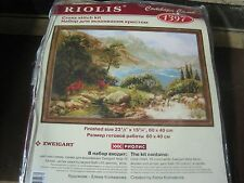 "RIOLIS 1397 COUNTED CROSS STITCH KIT 23-1/2"" x 15-3/4"" ZWEIGART ELENA KOLMAKOVA"