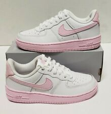Nike Air Force 1 Low Pink Foam CZ5900-100 PS Youth Sz 12c NEW NoBoxLid