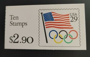 At Face! US Scott 2528a Booklet 186 MNH Booklet has been opened. Free shipping!