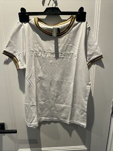 SWEATY BETTY Ladies White Team Betty T-shirt - Size M