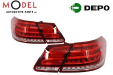 Depo Tail Lamp LED 4 Pieces Set For Mercedes-Benz E-Class W212 2009-2016