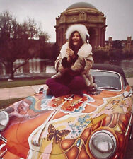 Janis Joplin UNSIGNED photograph - L2977 - September 1968 - NEW IMAGE!!